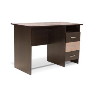 Картинка Письменный стол СП-5 с ящиками Венге Беленый Дуб дизайн-1 ракурс-1