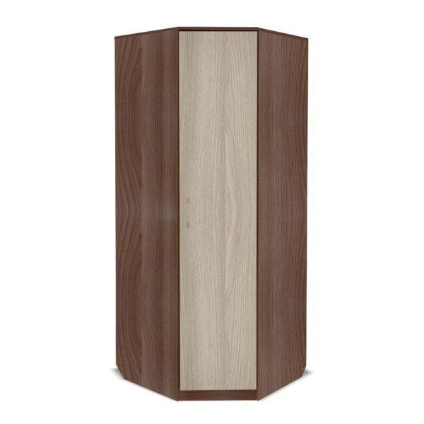 Картинка Шкаф угловой Камелия Ясень Темный Светлый дизайн-2 ракурс-1