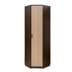 Картинка Шкаф угловой Прихожая №5 Модуль №7 Венге Беленый Дуб дизайн-1 ракурс-1